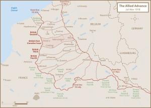 Allied Advance 1918