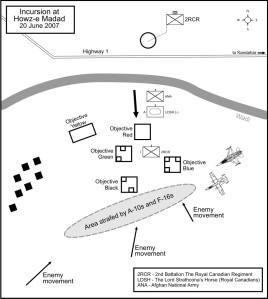 Howz-e Madad sketch map